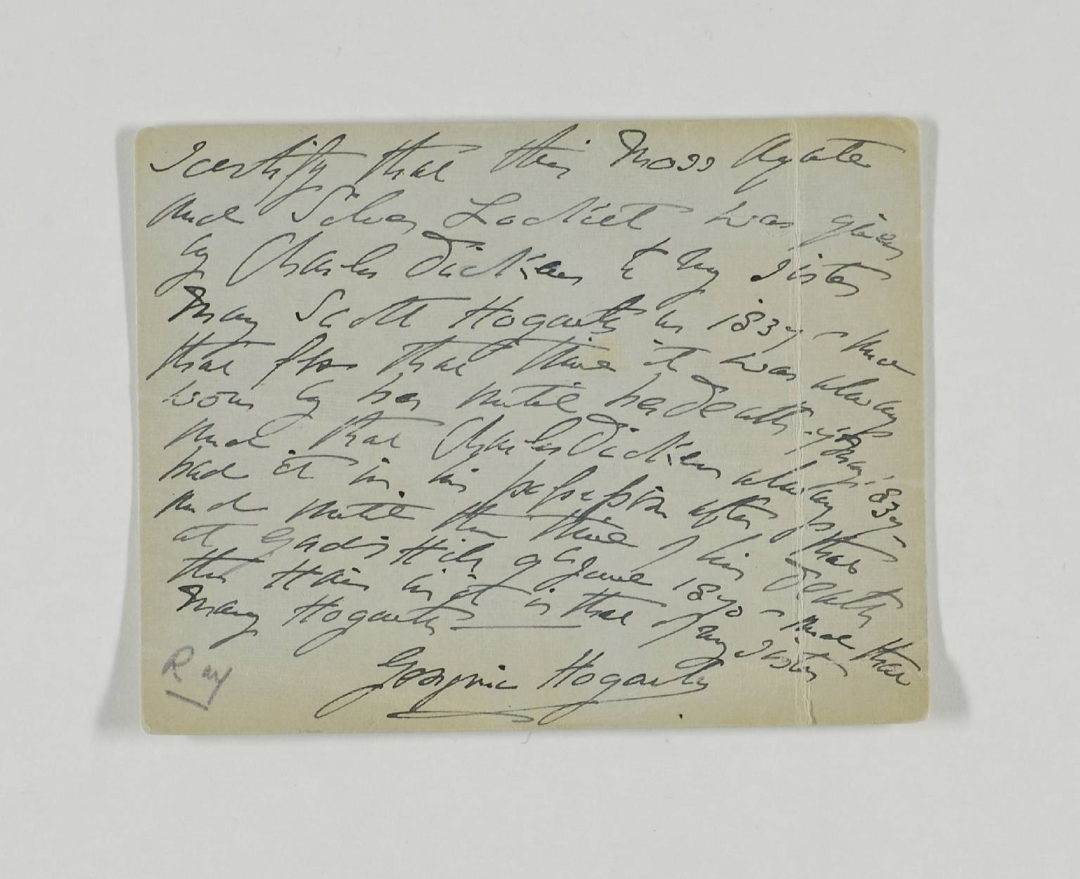 Collection of artworks, objects, playbills, letters associated with Charles Dickens, his life and work