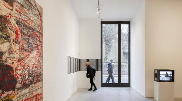 Kettle's Yard, interior of the new galleries