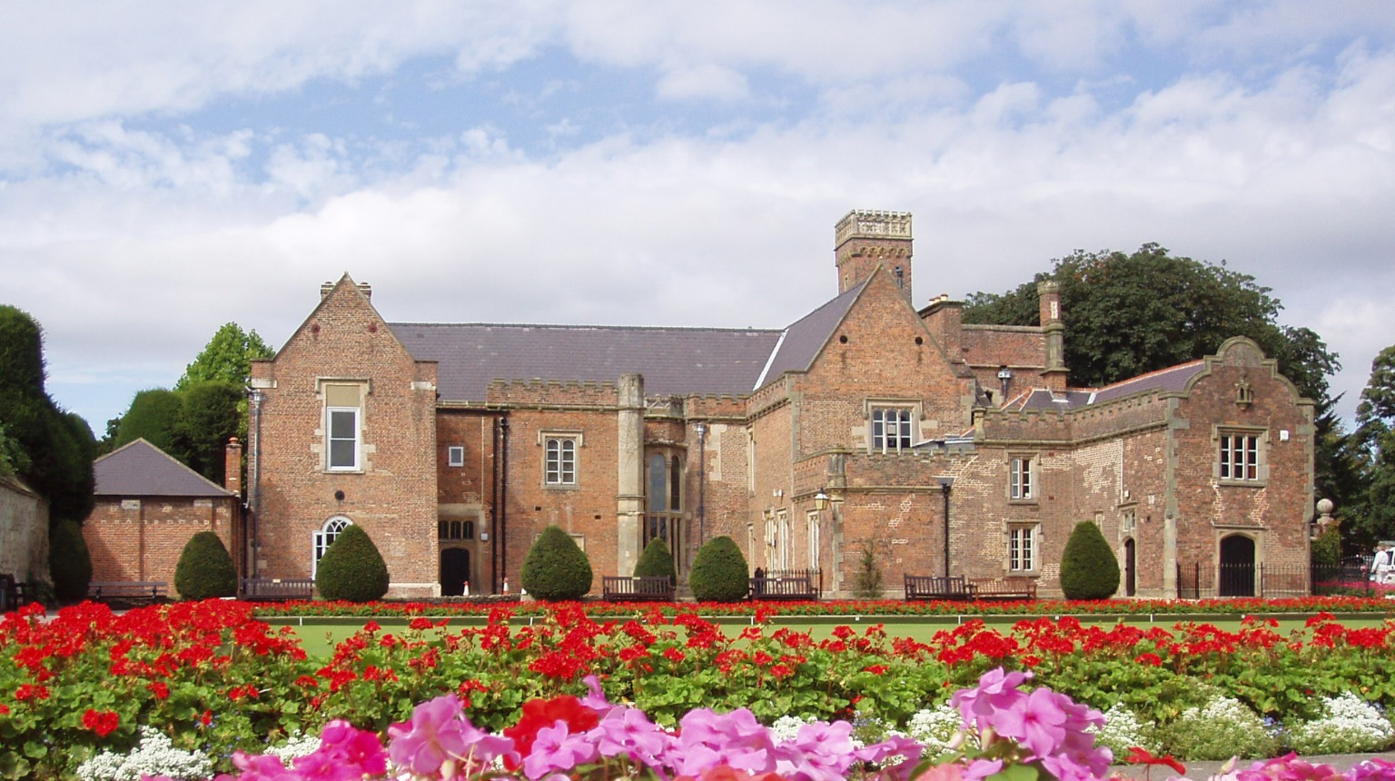 Ayscoughfee Hall Museum, Rear elevation of Ayscoughfee Hall, © South Holland District Council