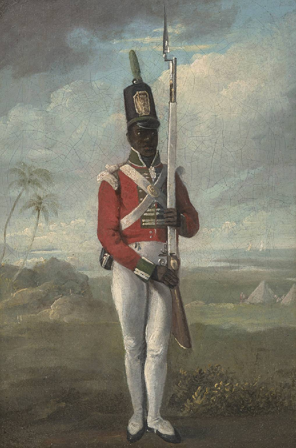 Portrait of a Private of the 8th West India Regiment, c.1803-6