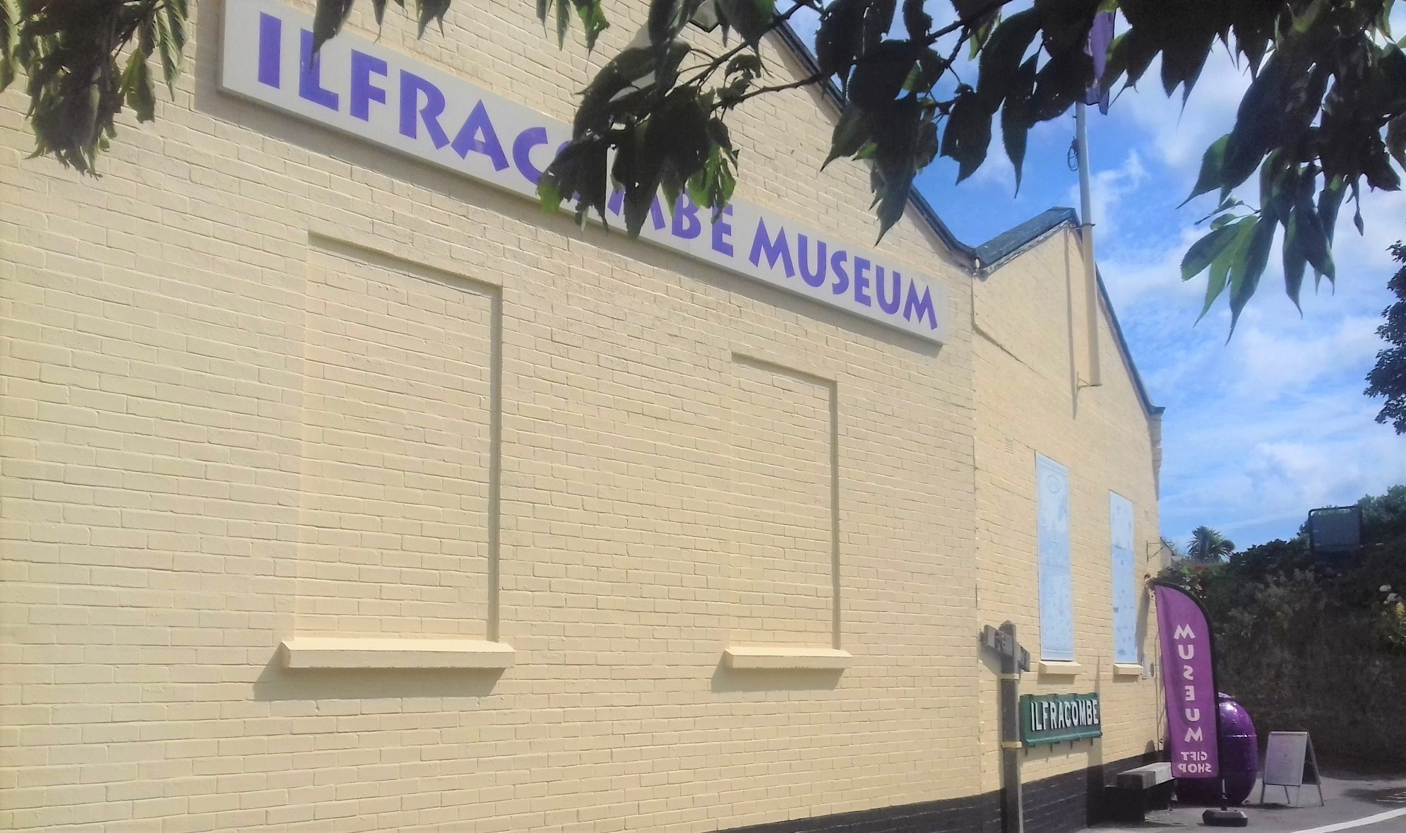 Ilfracombe Museum, formerly the Laundry of the iconic Ilfracombe Hotel