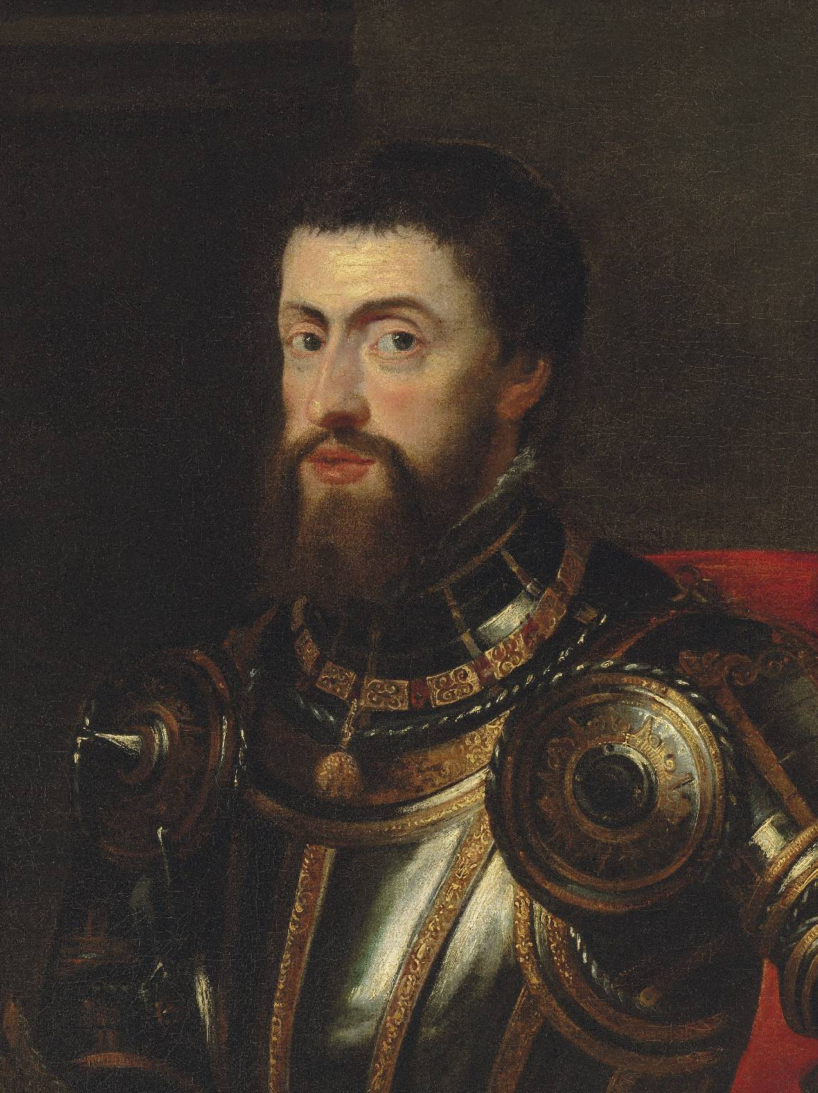 'The Emperor Charles V' by Sir Peter Paul Rubens