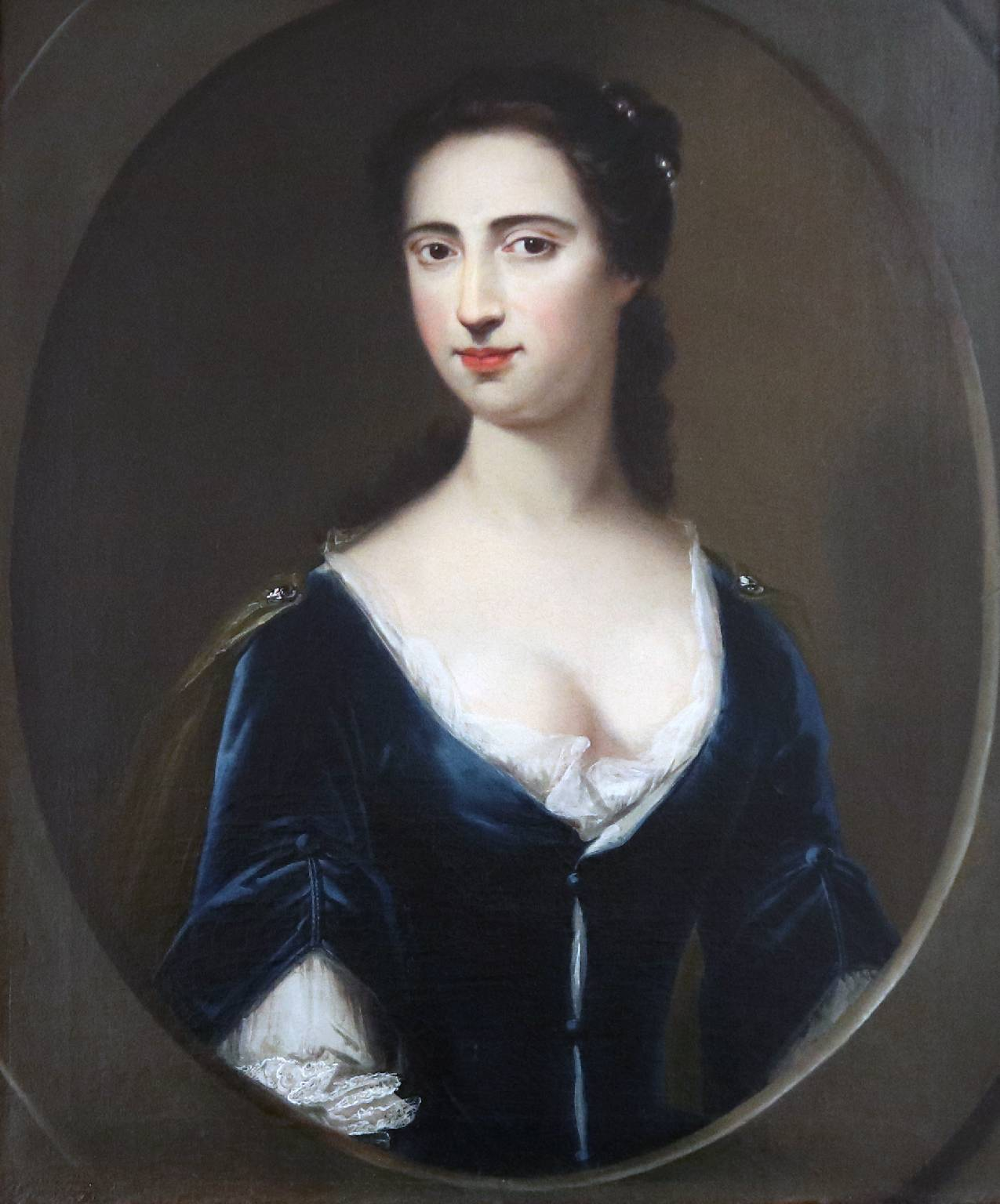 Circle of Charles Jervas, Portrait of Althea Fanshawe, c.1720. Photo: LBBD/Valence House.