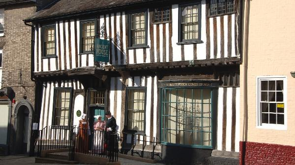 Ancient House, exterior, © Norfolk Museums Service